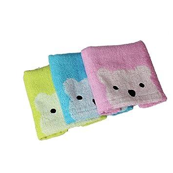 mecool towel set di 3 bambino porta asciugamani microfibra teli accessori per bagno bimbo spugna