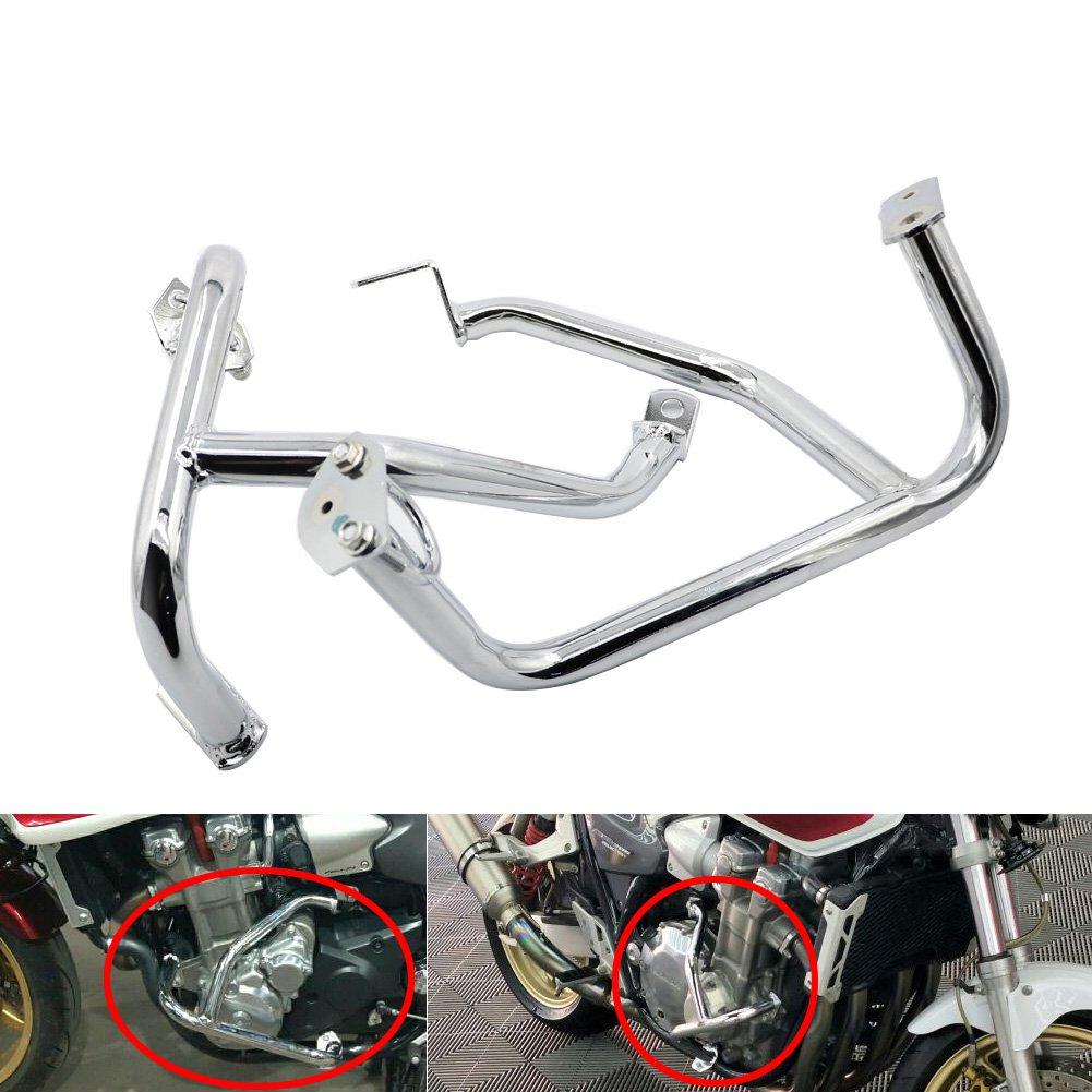 Alpha Rider Chrome Crash Bar Protect Engine Guard Bar for HONDA CB1300 2004 2005 2006 2007 2008