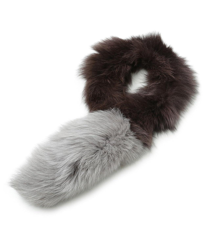 Real Fox Fur Coat Collar Women Natural Fox Scarf Winter Warm Fur Shawl Short Scarves Neck Scarf Scarf Women's Scarf Sets Hat & Glove Sets L14