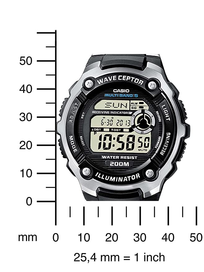 Casio Reloj de Pulsera WV-200DE-1AVER
