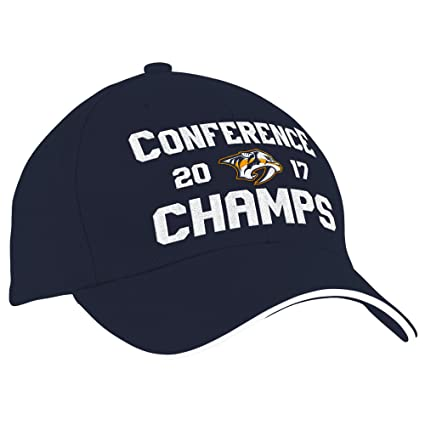 Amazon.com   adidas NHL Nashville Predators Men s Conference ... e02986da5