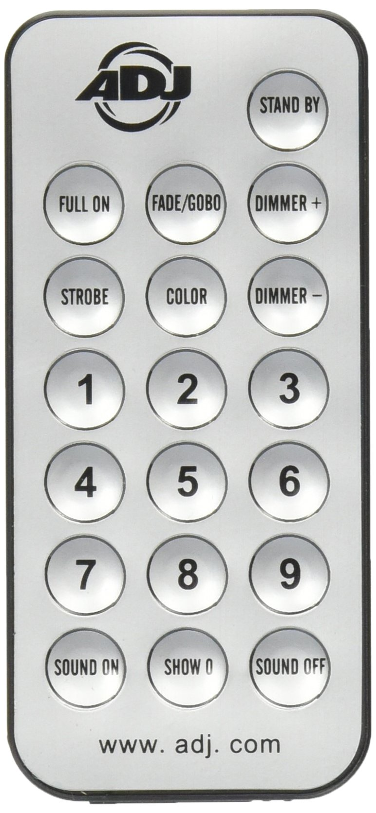 ADJ UC-IR Remote Control for Select ADJ Lighting Fixtures by ADJ Products