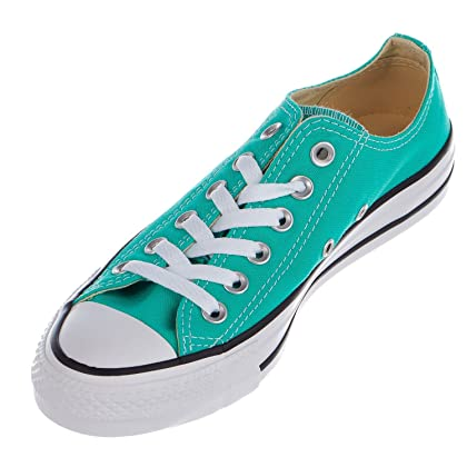2290cfe9992dca Converse Unisex Chuck Taylor All Star Low Top Menta Sneakers - 10 B(M) US  Women   8 D(M) US Men