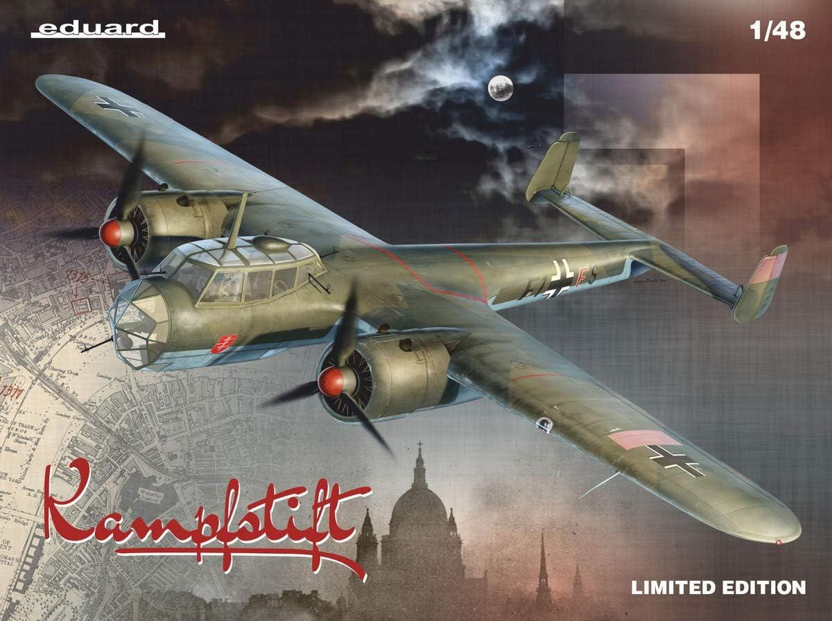 Model Building KIT EDU11147 1:48 Eduard Dornier Do17Z 1939-11942 Kampfstift Eduardo 1//48 Limited Edition German Air Force Dornier Do-17Z