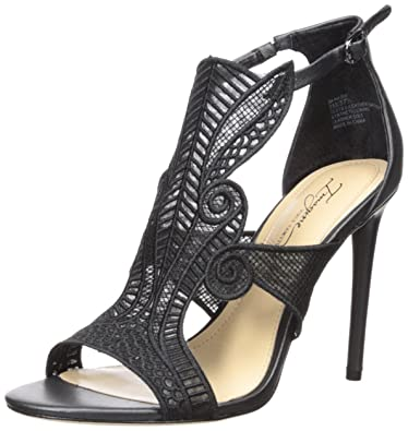 Imagine Vince Camuto Women's Rashi Heeled Sandal, Black, 10 Medium US