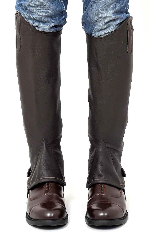 Riders Trend Full Grain Gaiter Leather Gaiter Grain -, color marrón, talla X-Small fa4af7