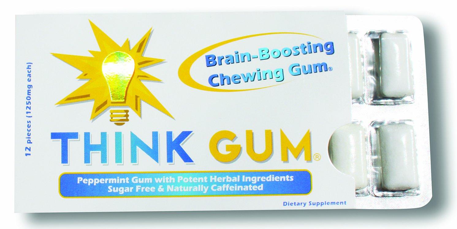 Amazon Com Neurogum Nootropic Energy Gum Caffeine L