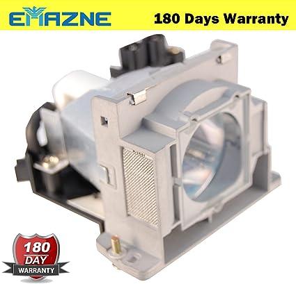 emazne vlt-hc910lp projector replacement compatible lamp with housing for  mitsubishi hc100 mitsubishi hc1100 mitsubishi