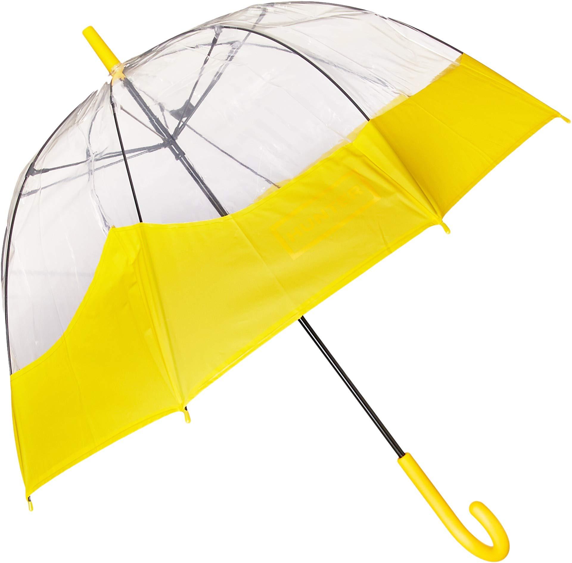 Hunter Unisex Original Welded Moustache Bubble Umbrella Yellow One Size