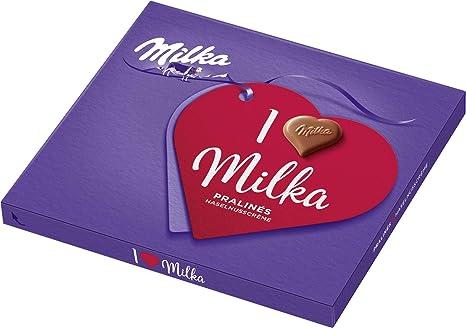 "Caixa de Bombom ""I love Milka"" 110g - Alemanha"
