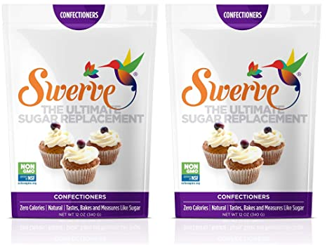 Swerve Sweetener, Confectioners (Pack Of 2) by Swerve