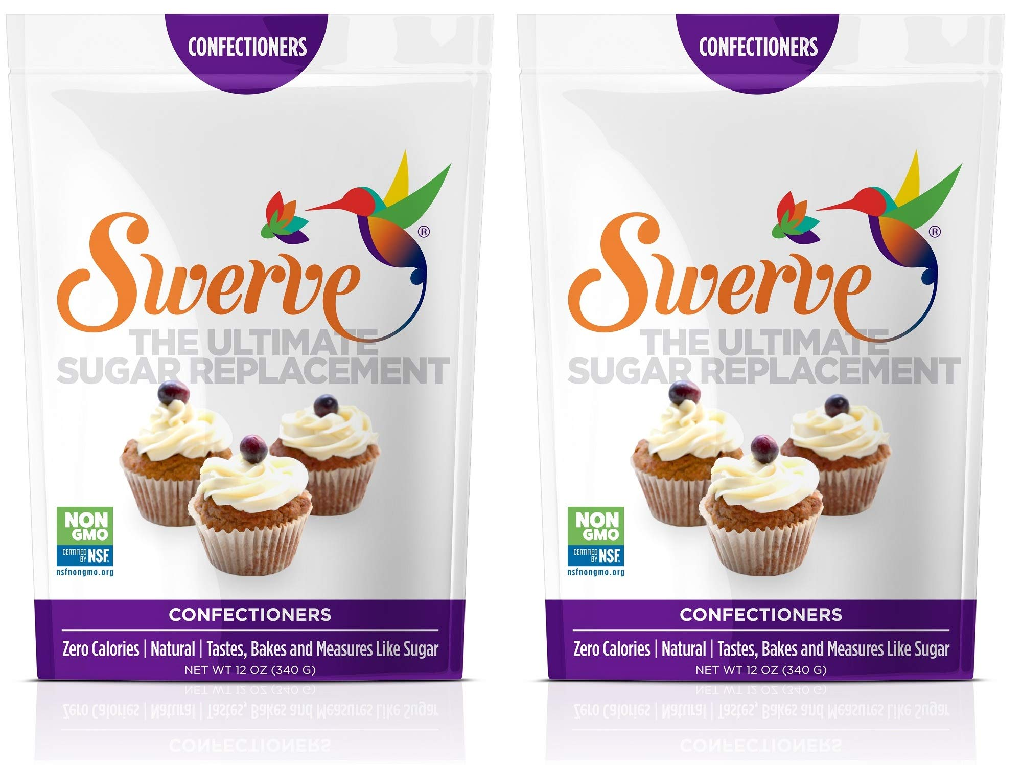 Swerve Sweetener, Confectioners (Pack of 2) by Swerve (Image #1)