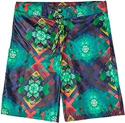 OFFCORSS Big Boy Kids Colorful Swimming Trunks Swimsuit | Trajes de Baño Niño
