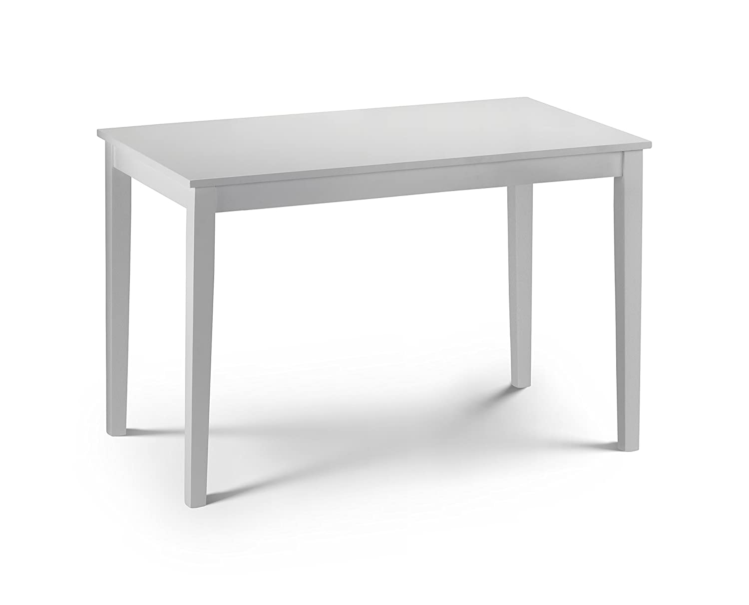 White Table Uk Part - 28: Julian Bowen Taku Dining Table - White Lacquer: Amazon.co.uk: Kitchen U0026 Home