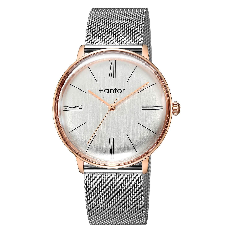 Men Watch Classic Quartz Analog Watches Mens Designer Luxury Dress Simple Waterproof Casual Wristwatch Man Mesh Clock Business