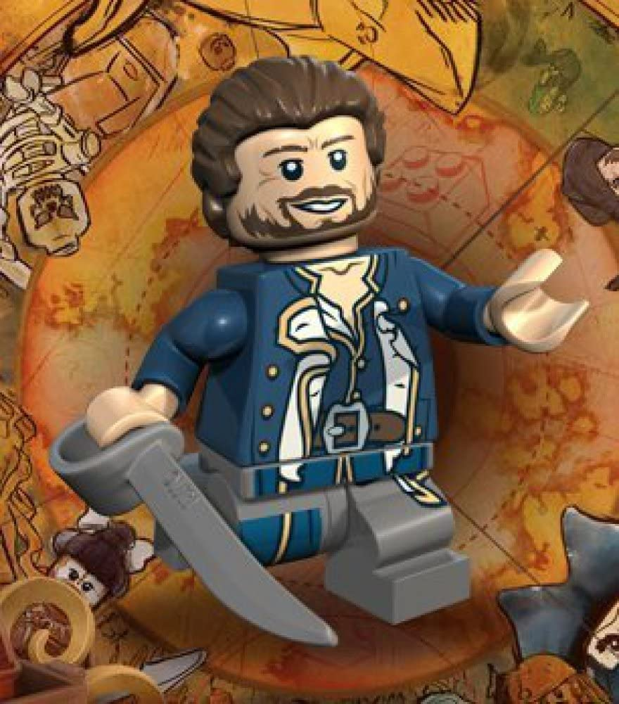 Admiral Norrington Lego Pirates of the Carribean Minifigure