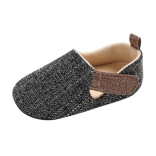 ce7ce739584c4 Amazon.com  Newborn Infant Baby Girls Boys Walking Shoes Sneaker 0 ...