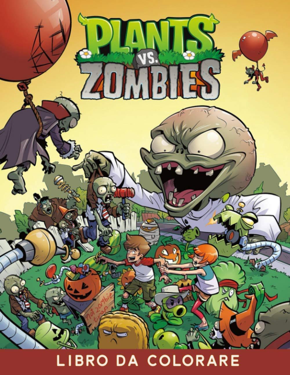 Amazon Com Plants Vs Zombies Libro Da Colorare Ottimo Libro Da Colorare Per Bambini Adulti Italian Edition 9798694279888 Doupe Jonathan Books