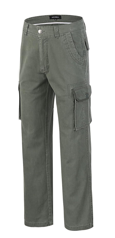 Krumba Pantalones de Algodón al Aire Libre para Hombre: Amazon.es: Ropa y accesorios