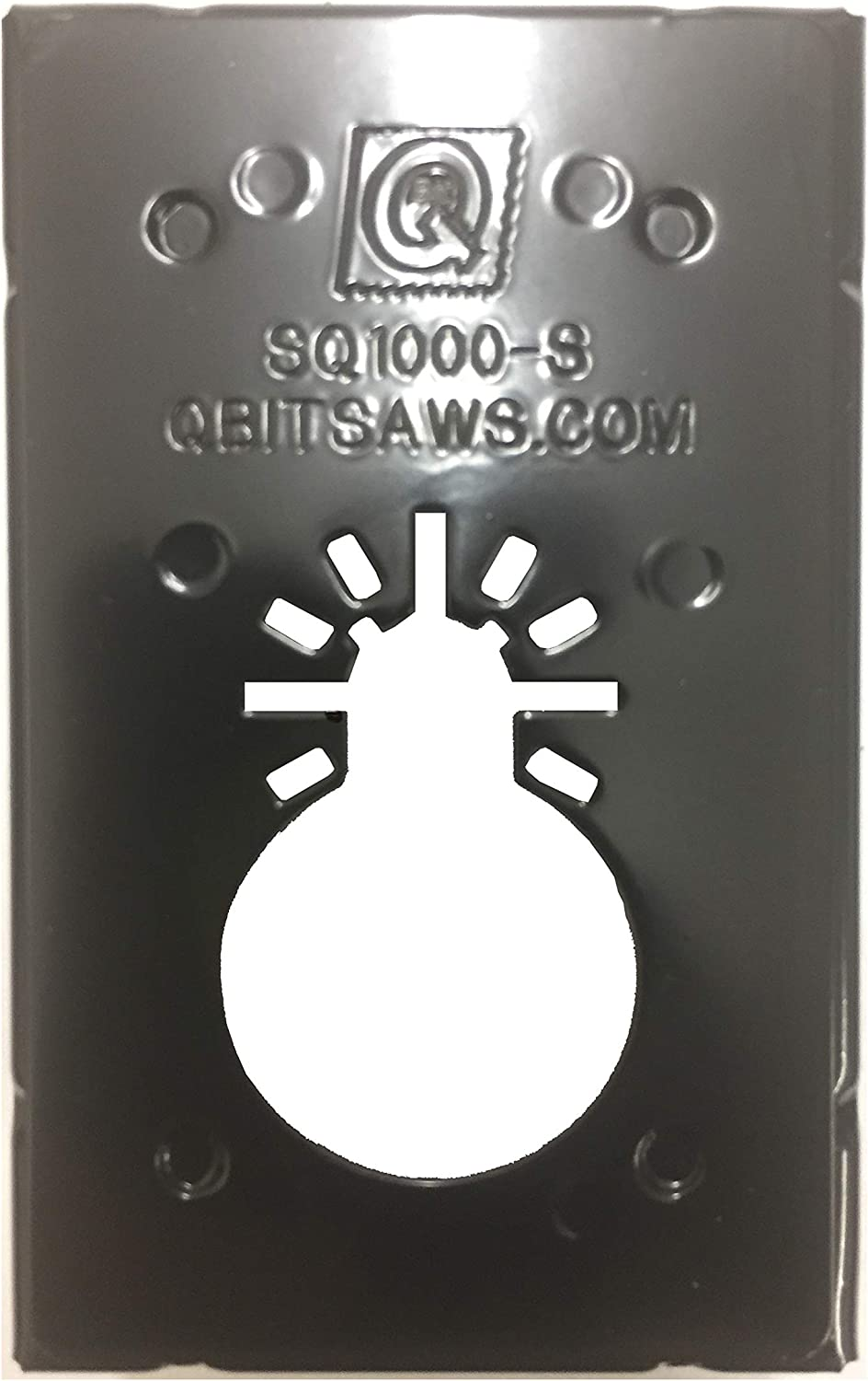QBit SQ1000 Contractor 4 Kit Oscillating Multi Tool Saw Blade Cut Wall Outlet