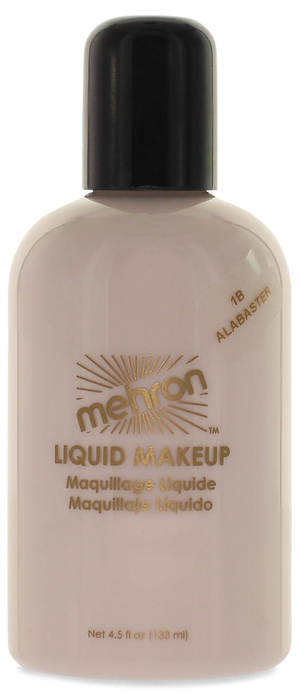 Mehron Makeup Liquid Face & Body Paint, WHITE - 4.5oz 111-W