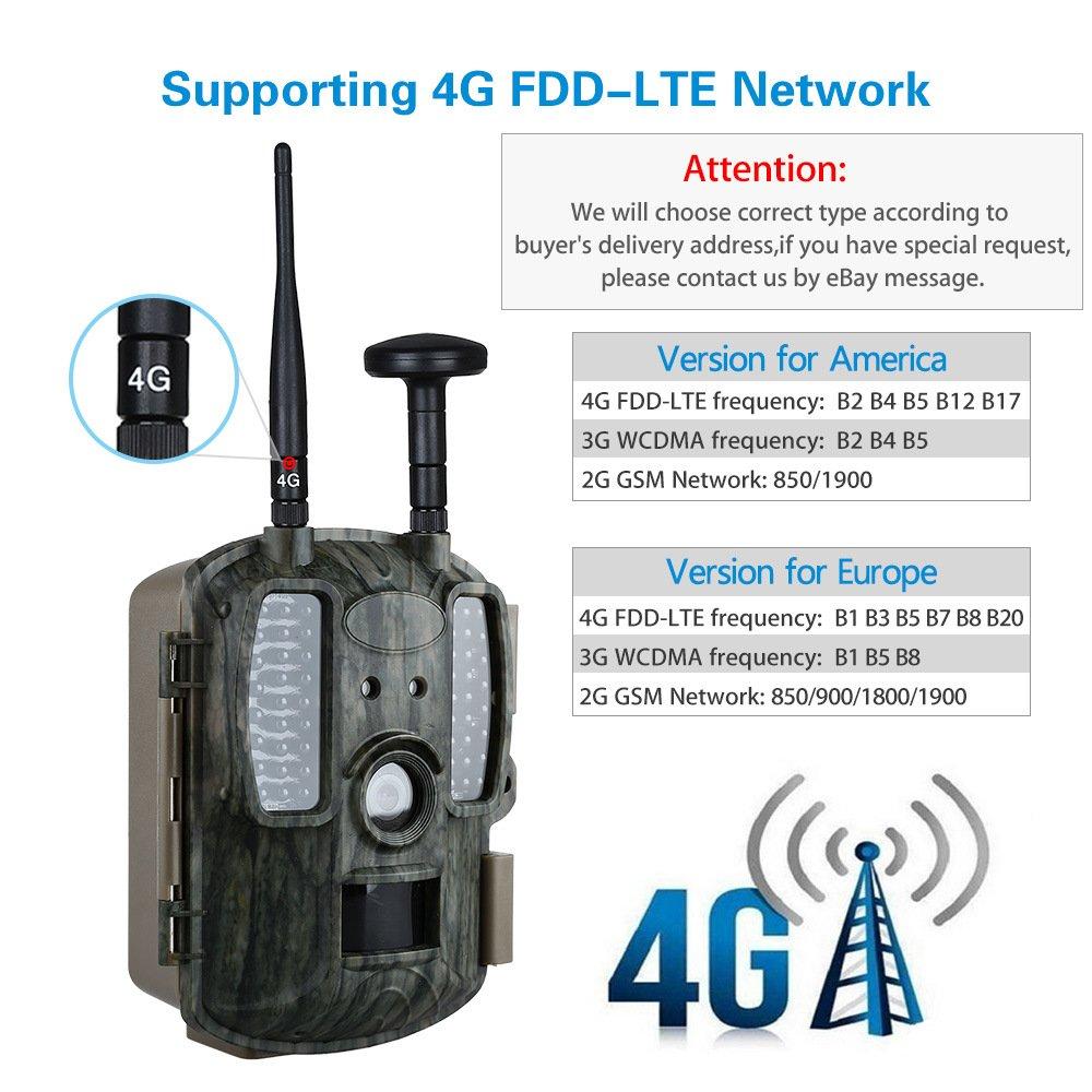 ... con Función De GPS 12MP1080P Pantalla LCD DE 2.0 Pulgadas Cámara Infrarroja De Visión Nocturna Seguimiento De La Cámara De Vigilancia De Vida Silvestre ...