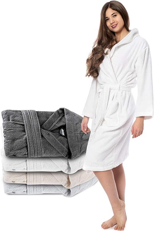 Belt Hood Absorbent No Chemicals Soft Bathrobe Men 100/% Turkish Cotton 2 Pockets