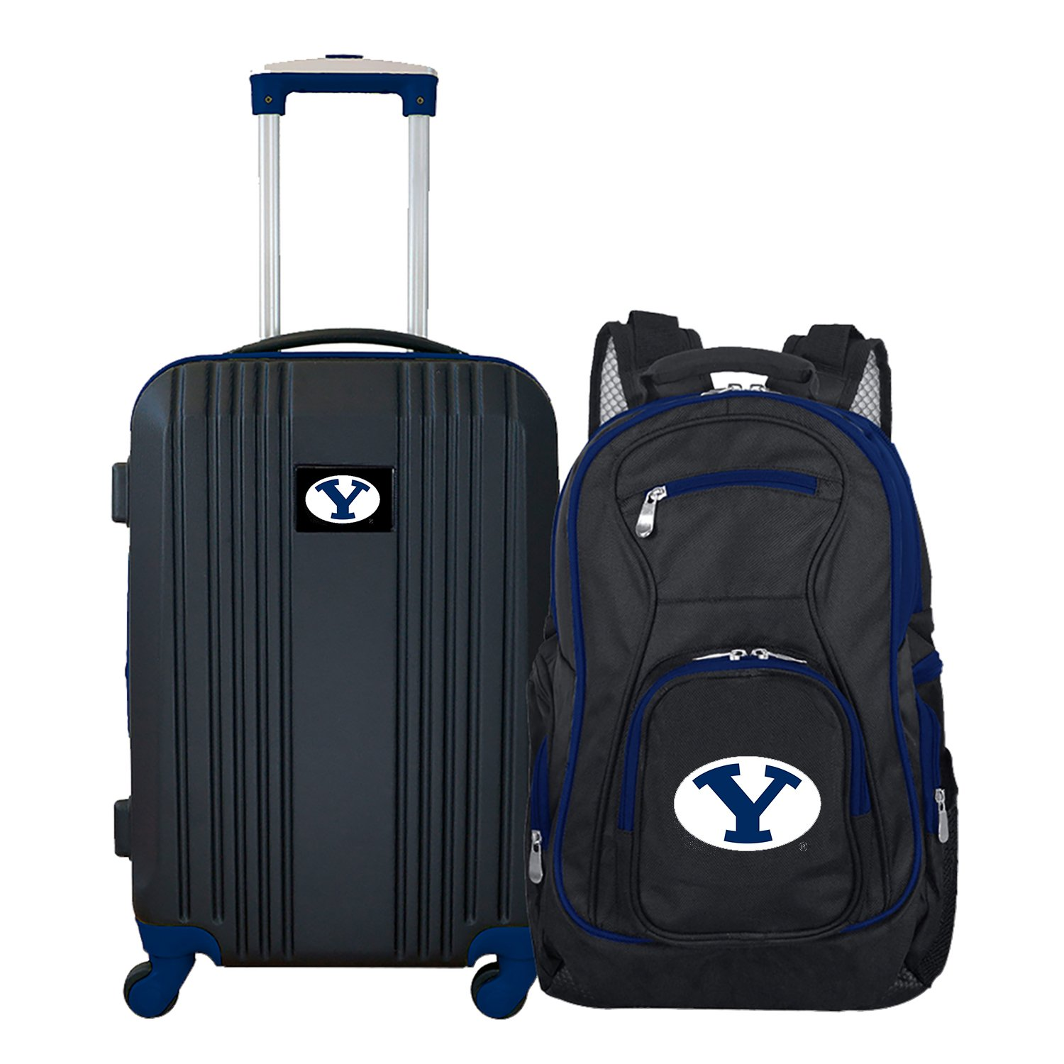 NCAA BYU Cougars 2-Piece Luggage Set