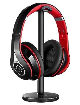 Mpow 059 Auriculares Inalámbricos para TV con Transmisor Bluetooth, Cascos Inalámbricos TV, Batería 20H, Reducción Ruido y Hi-Fi Estéreo, Sin ...
