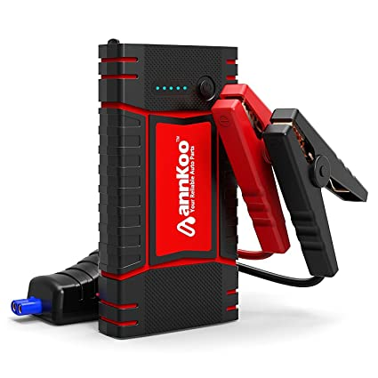 Car Jump Pack >> Car Jump Starter Annkoo Quick Charge Ip65 Portable 450a Peak Current Up To 4 0l Gas Or 2 5l Diesel Engine Phone Power Bank Auto Battery Charger
