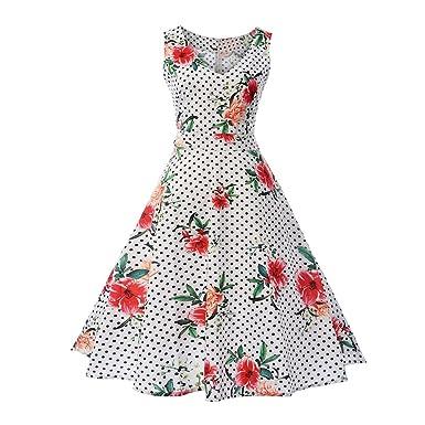 Misshow Dresses for Women Summer Rockabilly Dresses for