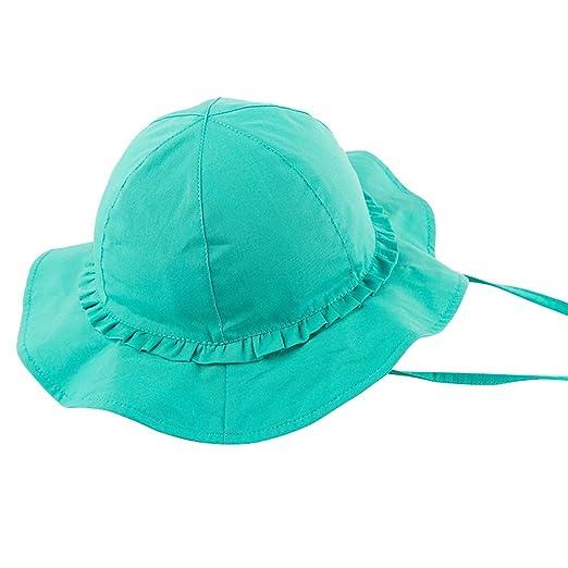 fb7683694b3 Amazon.com  OTOO Baby Sun Hat UPF 50+
