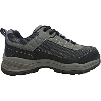 Brahma Seth Men's Work Steel Toe Shoes, Grey (8 D(M) US