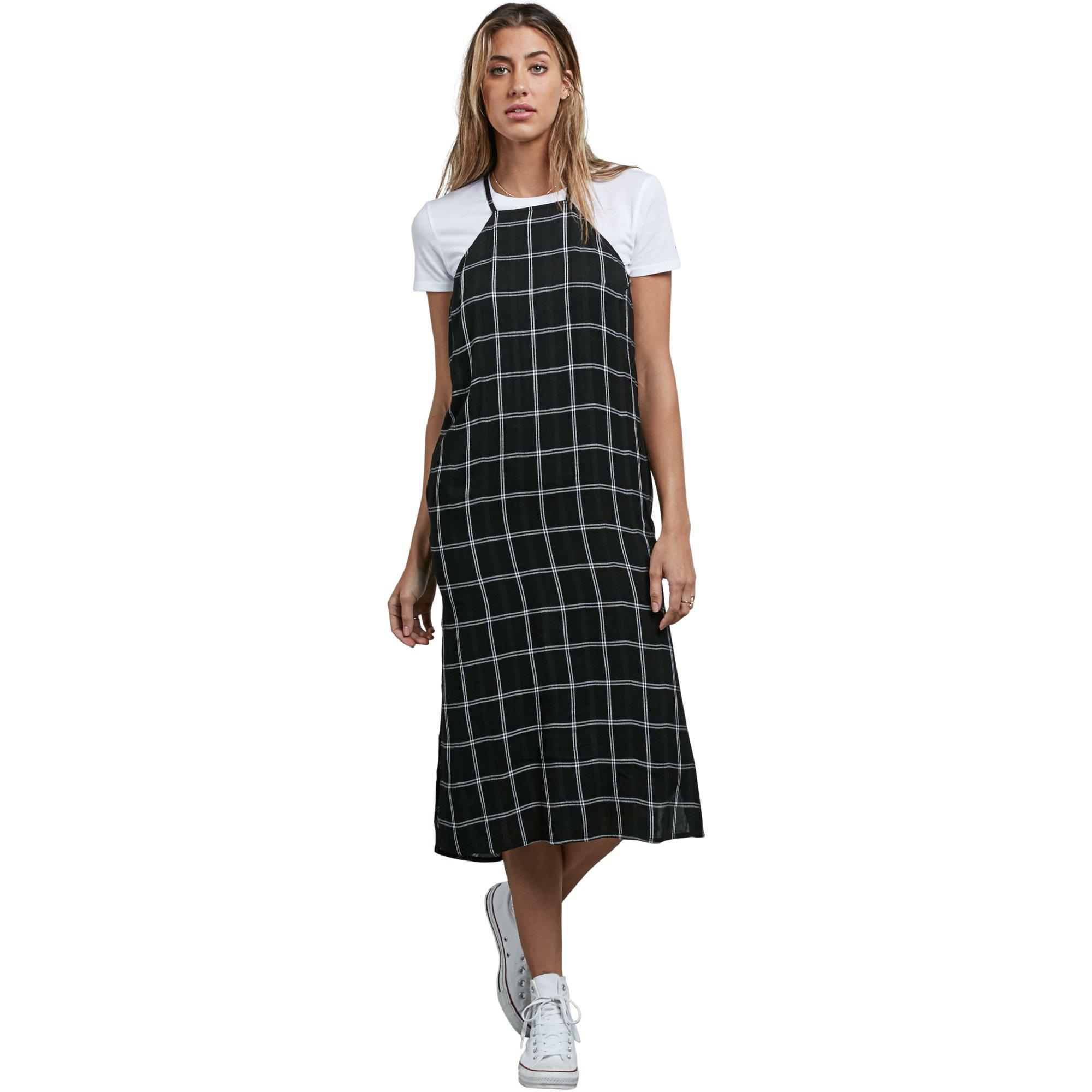 Volcom Junior's Jumponit Dress, Black, S