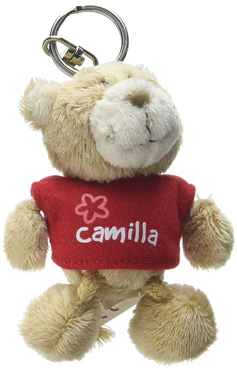 NICI n15783 - Llavero Oso con Camiseta Camilla, Rojo: Amazon ...