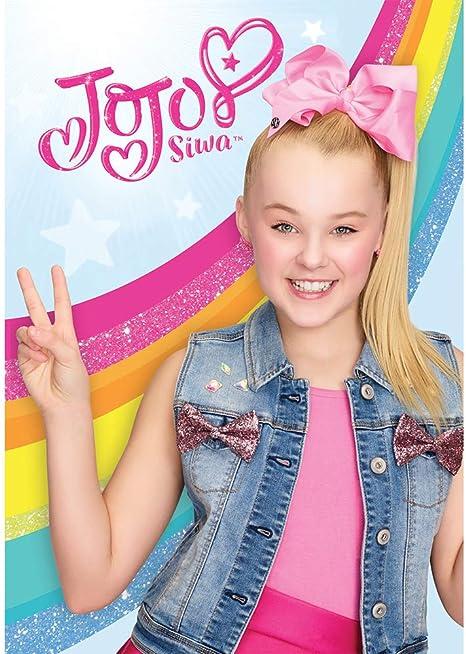 Amazon.com: Foto fondo de vinilo 5 x 7 JoJo Siwa fondo feliz ...