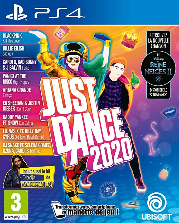 Ubisoft Just Dance 2020 - PS4, 3307216125037: Amazon.es: Informática