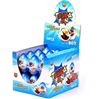 Chocolate egg for boy - pack of 24pcs