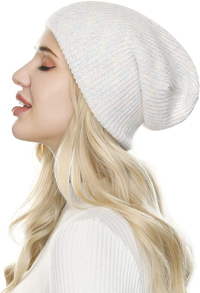 Mens Womens Chunky Woolly Warm Knitted Beanie Winter Ribbed Soft Hat Brand New