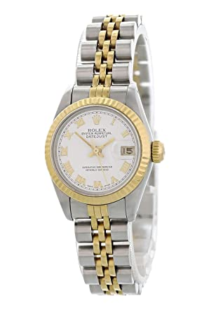 d482f1eb6be96 Image Unavailable. Image not available for. Color  Rolex Datejust Automatic-self-Wind  Female Watch 69173 (Certified Pre-Owned)