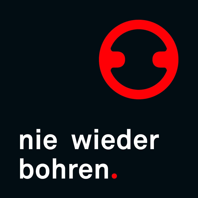 Tesa NIE Wieder bohren draad DK210 Cestino angolare da Doccia con Tecnica di Fissaggio Senza Trapano in Ottone Massiccio Cromato e lucidato a Specchio