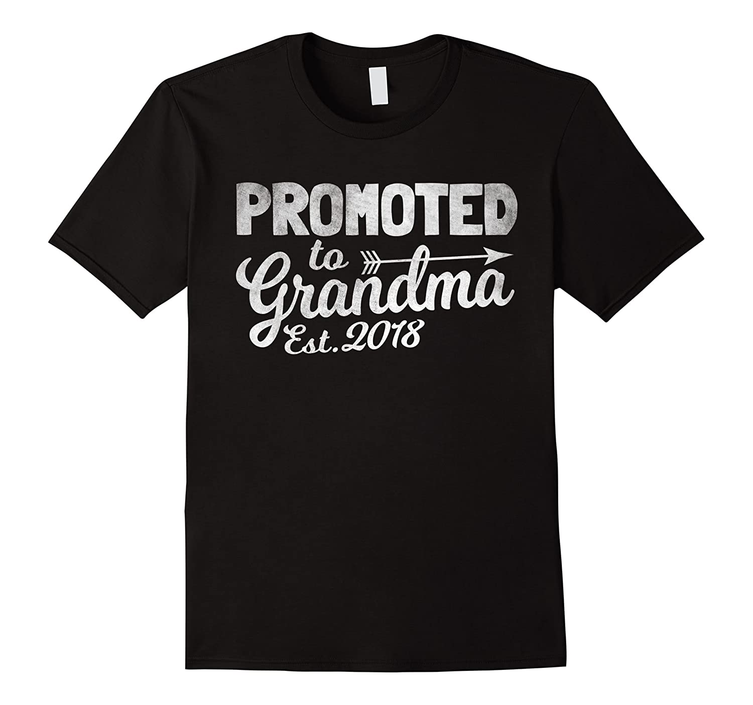 70c1fbb3a7 Funny New Grandma Shirt – Promoted To Grandma Est. 2018 Tee-RT ...