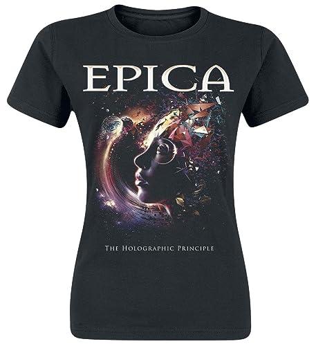 Epica The Holographic Principle Camiseta Mujer Negro