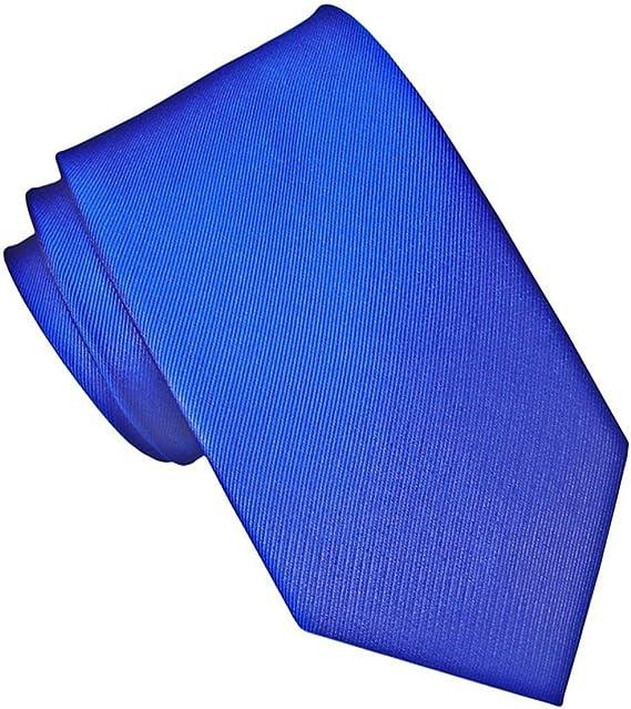 JOSVIL Corbata Pala Estrecha Seda Azul Electrico. Corbatas de seda ...