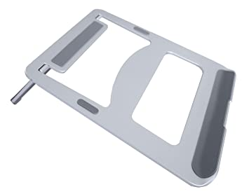 Bramley Power - Soporte de Aluminio sólido para Ordenador portátil Apple Macbook Pro/Air y