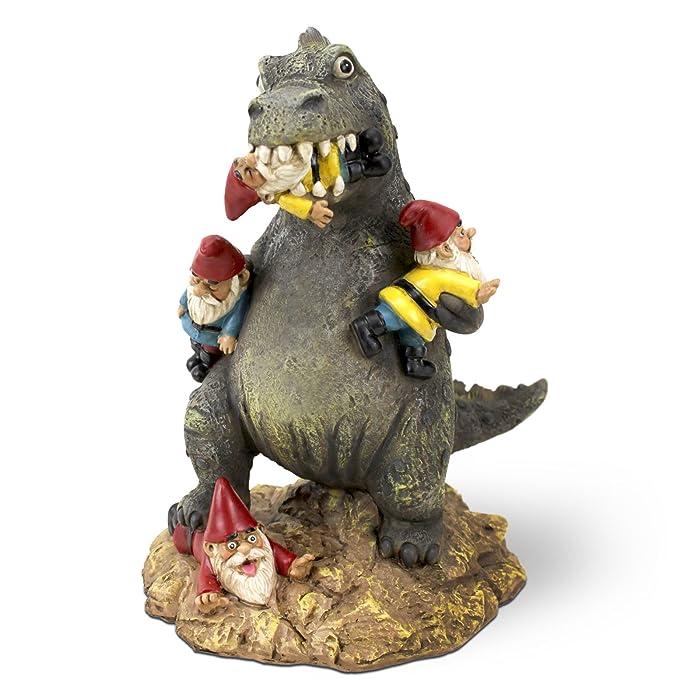 BigMouth Inc The Great Garden Gnome Massacre, Hilarious Lawn Gnome Godzilla, 9 Inches Tall