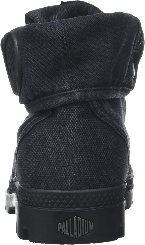 Palladium Pallabrouse Baggy, Baskets Hautes Femme Noir Black Metal 862