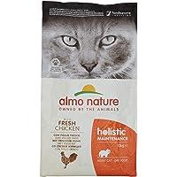 Almo Nature Holistic Maintenance droogvoer voor katten met verse kip, 12 kg
