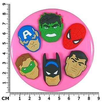 Moule gateau super heroes