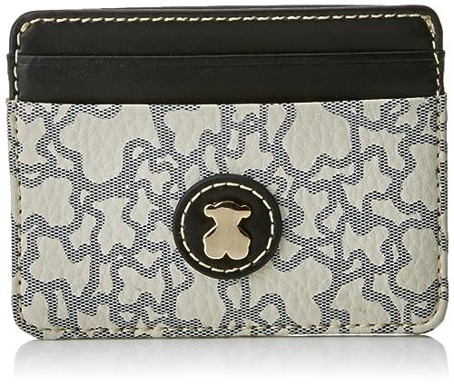 Tous Kaos Mini de Lona, Tarjetero para Mujer, (Beige), 1x8x10 cm (W x H x L): Amazon.es: Zapatos y complementos